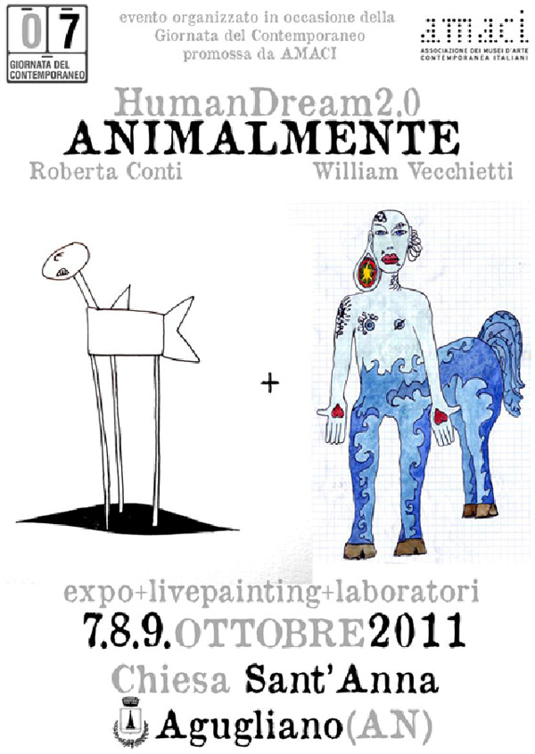 HUMAN DREAM 2.0 ANIMAL-MENTE