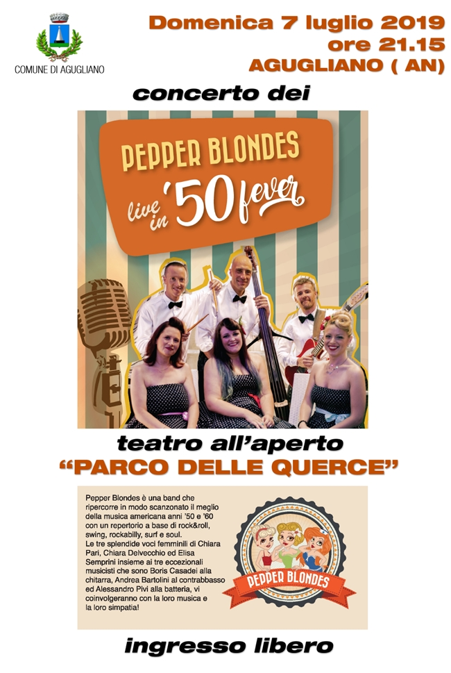 Pepper Blondes – live in '50 fever