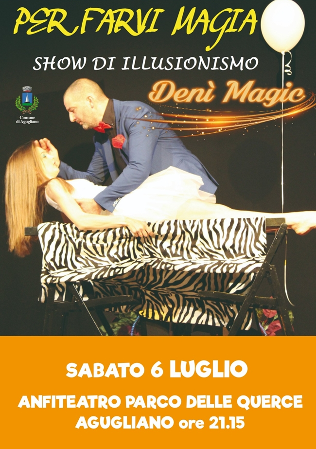 Show di illusionismo di Denì Magic